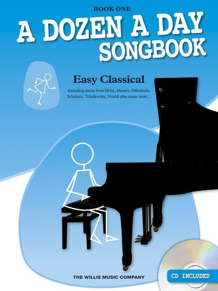 WMR101255 A Dozen A Day Songbook: Easy Classical Book One книга:...