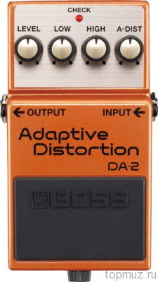 Педаль BOSS DA-2 Adaptive Distortion для электрогитары