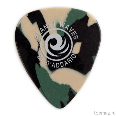 Медиаторы PLANET WAVES  1CCF4-25 Celluloid Medium 25 шт./уп.