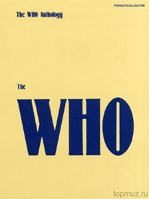 AM36369 - The Who Anthology - книга: The Who: Анталогия, 208 стр.,...