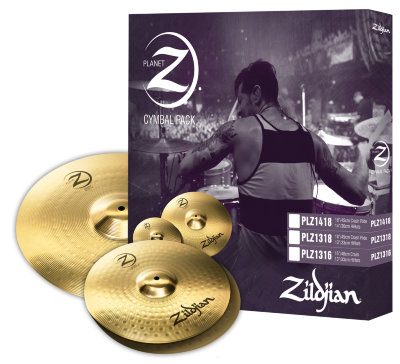 ZILDJIAN PLANET Z PLZ1316 набор тарелок (Hi-hat 13', Crash 16')