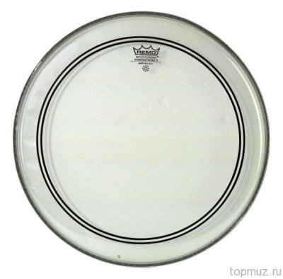 Пластик для барабана REMO PS-0313-00 BATTER PINSTRIPE CLEAR, 13''
