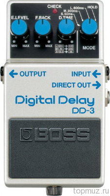 Педаль BOSS DD-3 Digital Delay для электрогитары
