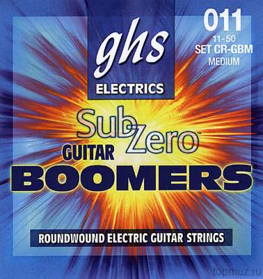 GHS CR-GBM 11-50 Medium Boomers Electrics струны для электрогитары