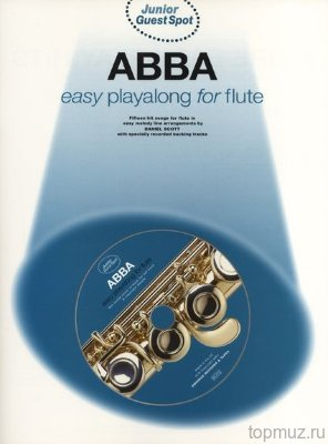 AM971014 - Junior Guest Spot: Abba - Easy Playalong (Flute) - книга:...