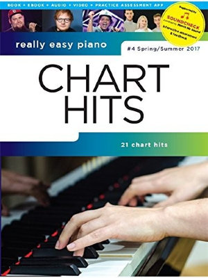 AM1012869 - REALLY EASY PIANO CHART HITS NO4 PF BOOK/MEDIA SOUNDCHECK