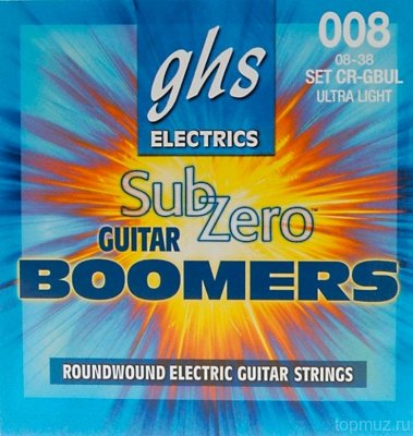 GHS CR-GBUL 08-38 Ultra Light Boomers Electrics струны для электрогитары
