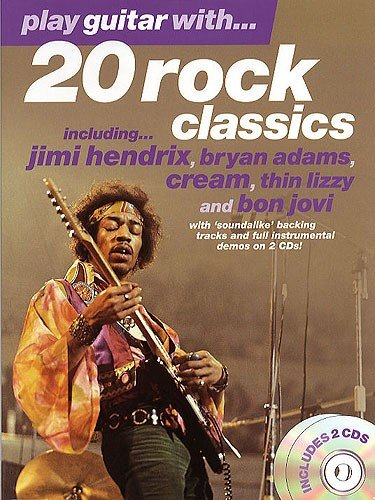 AM92108 Play Guitar With... 20 Rock Classics