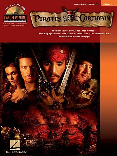 HL00311807 Piano Play-Along Volume 69: Pirates of the Caribbean