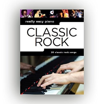 AM1012891 REALLY EASY PIANO CLASSIC ROCK PIANO BOOK