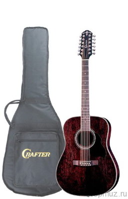 Crafter MD-70-12EQ/TBK 12-ти струнная электроакустическая гитара
