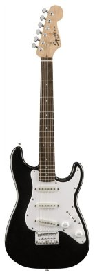 FENDER SQUIER MINI STRAT V2 BLK электрогитара мини