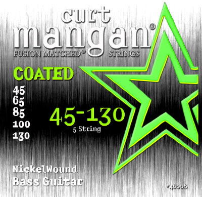 CURT MANGAN 45-130 Nickel Wound 5-String (45130) струны для бас-гитары