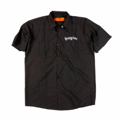 DUNLOP DSD37-MWS-XL Heavy Core Men's Work Shirt Extra Large рубашка, короткий рукав