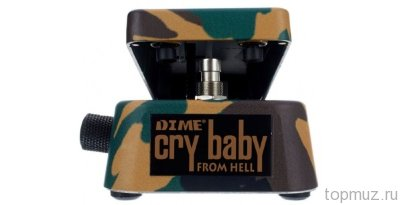 Педаль для гитары DUNLOP DB01 Dimebag Signature Cry Baby Wah эффект вау