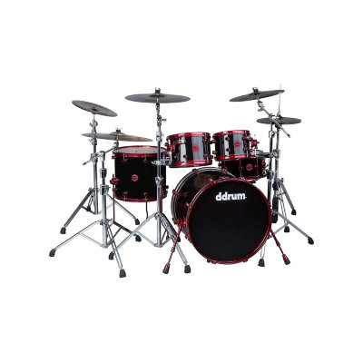 DDRUM REFLEX 522 BLK RED акустическая барабанная установка