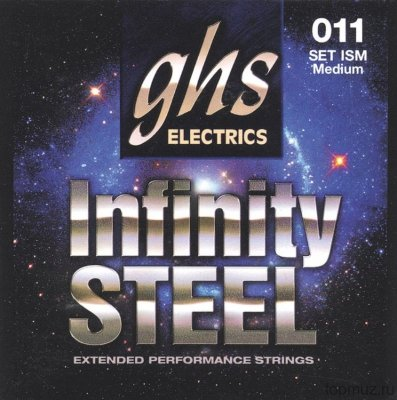 GHS ISM 011 Medium Infinity Steel Electrics струны для электрогитары