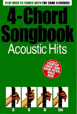 AM987756 4-Chord Songbook: Acoustic Hits