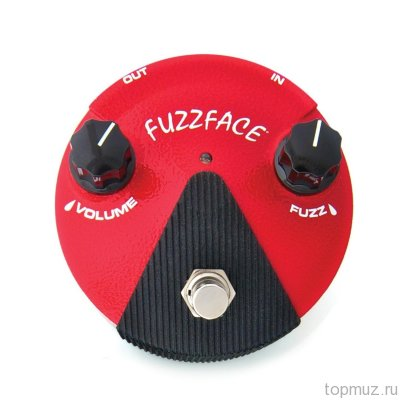 Педаль для гитары DUNLOP FFМ2 Germanium Fuzz Face Mini Distortion фузз