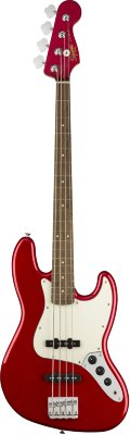 Squier Contemporary Jazz Bass® Laurel Fingerboard Dark Metallic Red бас-гитара