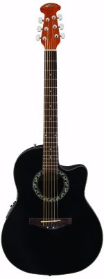 Applause AB24-5 Balladeer Mid Cutaway Black электроакустическая гитара