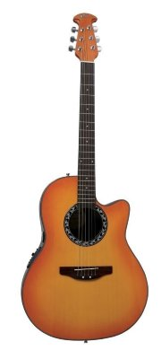 Applause AB24-HB Balladeer Mid Cutaway Honey Burst электроакустическая гитара