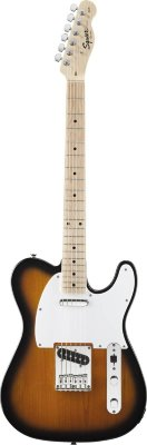 FENDER SQUIER AFFINITY TELECASTER MN 2-COLOR SUNBURST электрогитара