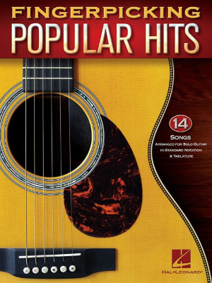 HL00139079 FINGERPICKING POPULAR HITS GTR TAB BK