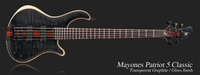 MAYONES Patriot 5 V-Frets бас-гитара