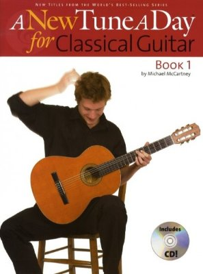BM11462 - A NEW TUNE A DAY CLASSICAL GUITAR BOOK 1 (CD EDITION) GTR BOOK/CD