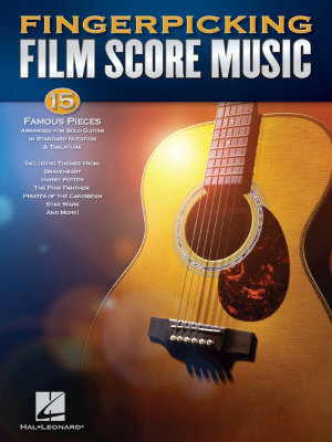 HL00160143 FINGERPICKING FILM SCORE MUSIC GUITAR SOLO NOTATION & TAB...