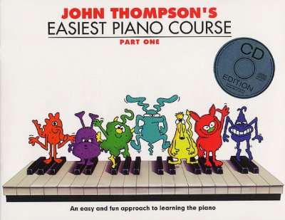 WMR101002 John Thompson's Easiest Piano Course: Part One (Book...
