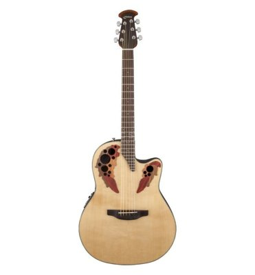 OVATION CE44-4 Celebrity Elite Mid Cutaway Natural электроакустическая гитара