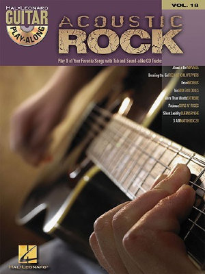 HL00699577 Guitar Play-Along Volume 18: Acoustic Rock Guitar Play-Along...