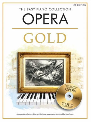 CH81950 The Easy Piano Collection: Opera Gold (CD edition) книга с нотами и аккордами