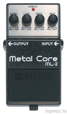 Педаль BOSS ML-2 Metal Core для электрогитары
