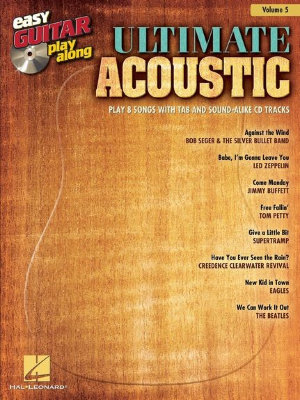HL00702573 Easy Guitar Play-Along Volume 5: Ultimate Acoustic