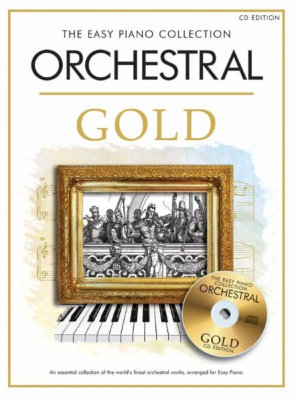 CH81961 The Easy Piano Collection Orchestral Gold (CD edition) книга с нотами и аккордами