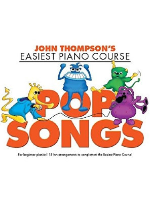 WMR101772 THOMPSON JOHN EASIEST COURSE POP SONGS PIANO BOOK