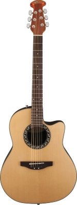 Applause AB24A-4 Balladeer Mid Cutaway Natural электроакустическая гитара