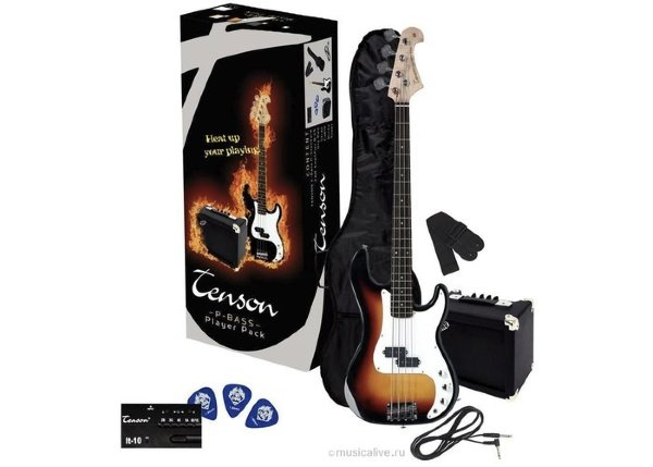 Tenson P Player Pack 3-Tone Burst