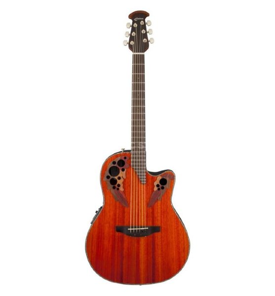 OVATION CE44P-PD Celebrity Elite Plus Mid Cutaway Padauk электроакустическая гитара
