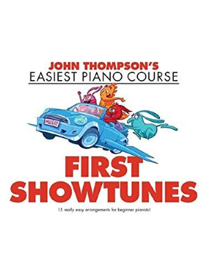 WMR101827 THOMPSON JOHN EASIEST PIANO COURSE FIRST SHOWTUNES PF BOOK