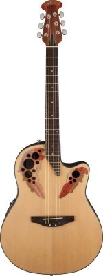 Applause AE44-4 Elite Mid Cutaway Natural электроакустическая гитара