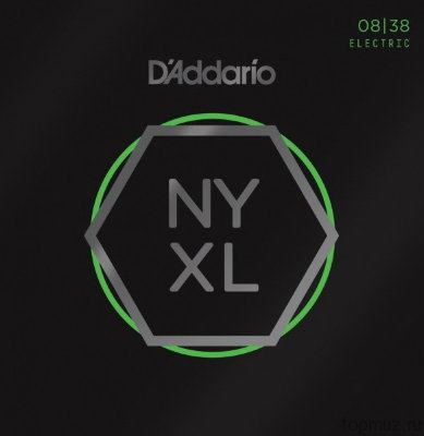 D'ADDARIO NYXL0838 Extra Super Light 8-38 струны для электрогитары