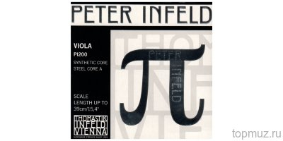 Струны для альта 4/4 Thomastik Peter Infeld PI200 комплект