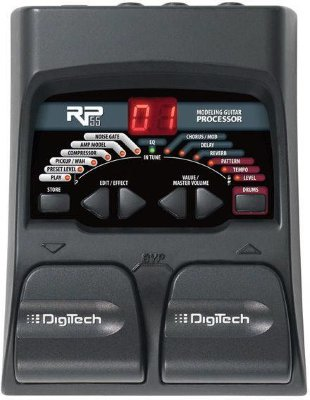 DIGITECH RP55 GUITAR MULTI-EFFECT PROCESSOR гитарный процессор