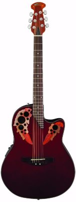 Applause AE44-RR Elite Mid Cutaway Ruby Red электроакустическая гитара