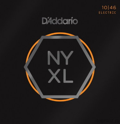 D'ADDARIO NYXL1046 Regular Light 10-46 струны для электрогитары