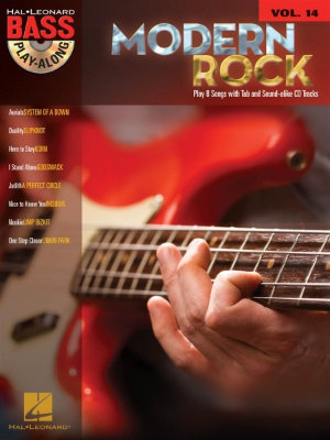 HL00699821 Bass Play-Along Volume 14: Modern Rock